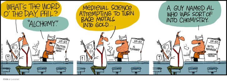 Comic Strip Mike Lester  Mike du Jour 2020-01-09 science