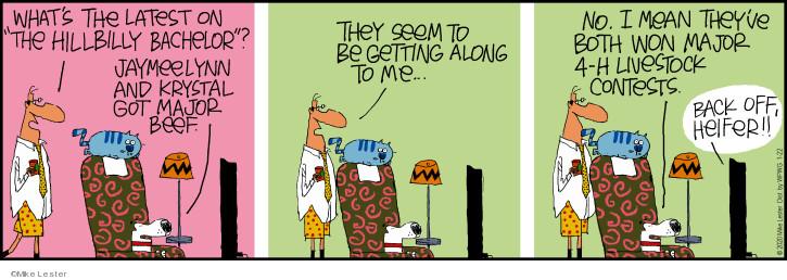 Comic Strip Mike Lester  Mike du Jour 2020-01-22 television cartoon