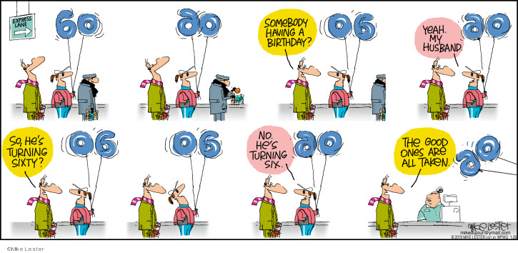 Cartoonist Mike Lester  Mike du Jour 2020-01-26 date