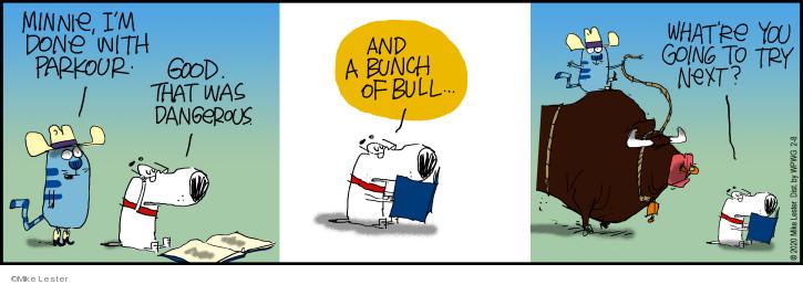 Cartoonist Mike Lester  Mike du Jour 2020-02-08 good