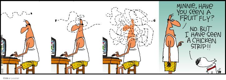 Comic Strip Mike Lester  Mike du Jour 2020-03-02 chicken