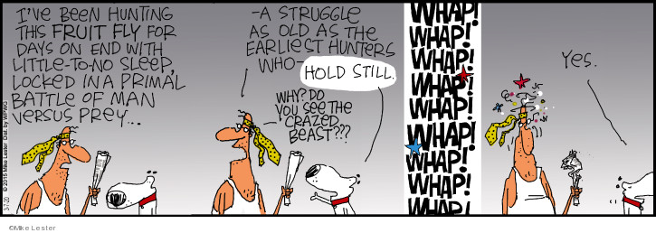 Cartoonist Mike Lester  Mike du Jour 2020-03-07 Mike