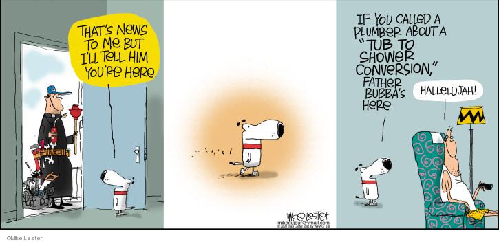 Cartoonist Mike Lester  Mike du Jour 2020-03-08 Mike