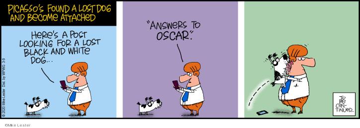 Cartoonist Mike Lester  Mike du Jour 2020-03-09 continue