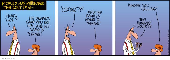 Comic Strip Mike Lester  Mike du Jour 2020-03-16 family