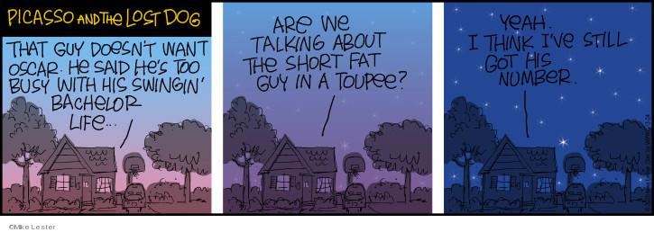 Comic Strip Mike Lester  Mike du Jour 2020-03-24 yeah
