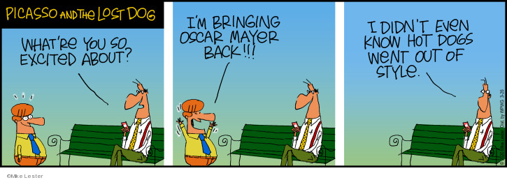 Cartoonist Mike Lester  Mike du Jour 2020-03-26 Lost