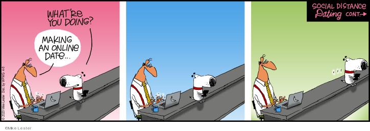 Cartoonist Mike Lester  Mike du Jour 2020-04-06 virus