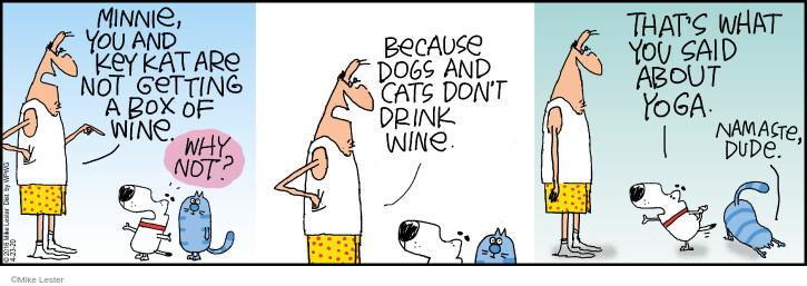 Comic Strip Mike Lester  Mike du Jour 2020-04-23 alcohol