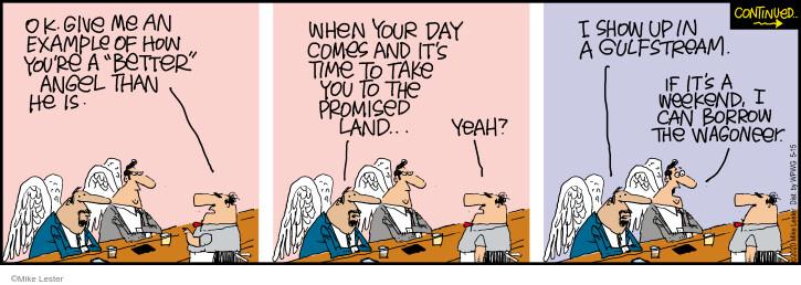 Comic Strip Mike Lester  Mike du Jour 2020-05-15 borrow