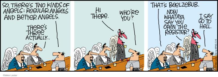 Comic Strip Mike Lester  Mike du Jour 2020-05-16 regular