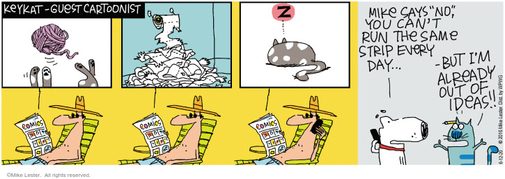 Comic Strip Mike Lester  Mike du Jour 2020-06-12 out