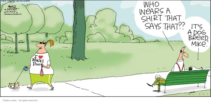 Cartoonist Mike Lester  Mike du Jour 2020-06-28 Mike