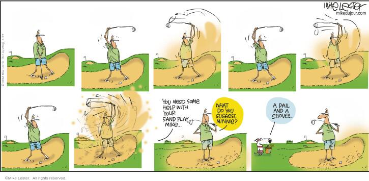 Comic Strip Mike Lester  Mike du Jour 2020-09-27 pit