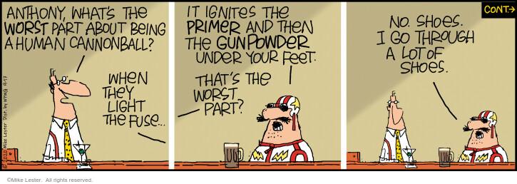 Comic Strip Mike Lester  Mike du Jour 2020-09-17 fire