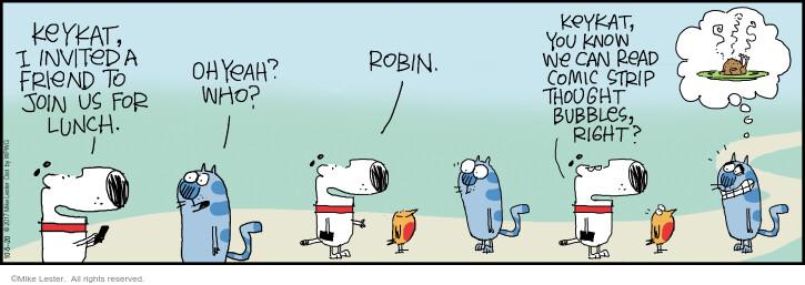 Comic Strip Mike Lester  Mike du Jour 2020-10-05 cat