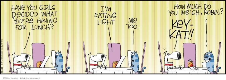 Comic Strip Mike Lester  Mike du Jour 2020-10-08 cat