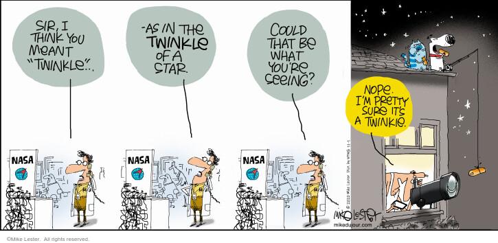 Comic Strip Mike Lester  Mike du Jour 2020-11-01 Mike