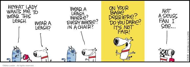 Comic Strip Mike Lester  Mike du Jour 2020-10-24 dare