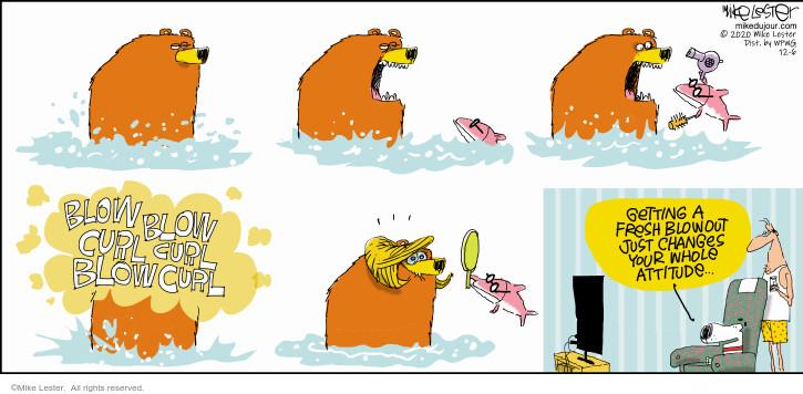 Comic Strip Mike Lester  Mike du Jour 2020-12-06 blow