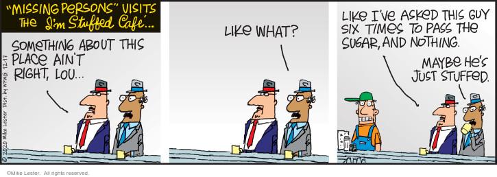 Comic Strip Mike Lester  Mike du Jour 2020-12-17 ask