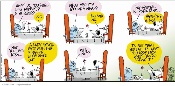 Comic Strip Mike Lester  Mike du Jour 2021-02-21 why