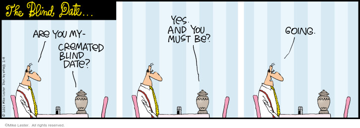 Comic Strip Mike Lester  Mike du Jour 2021-02-09 relationship