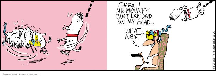 Comic Strip Mike Lester  Mike du Jour 2021-02-18 just