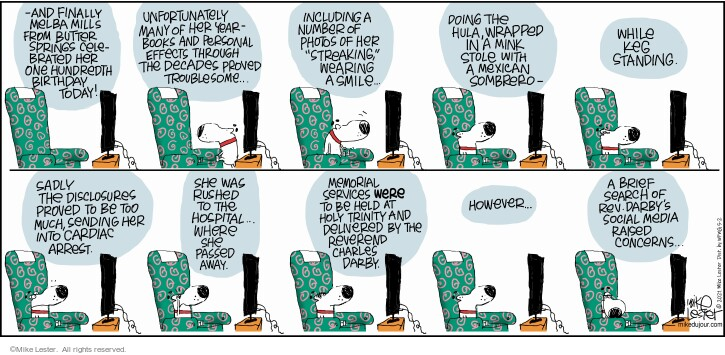 Comic Strip Mike Lester  Mike du Jour 2021-05-02 one