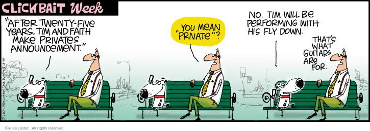Comic Strip Mike Lester  Mike du Jour 2021-04-19 his