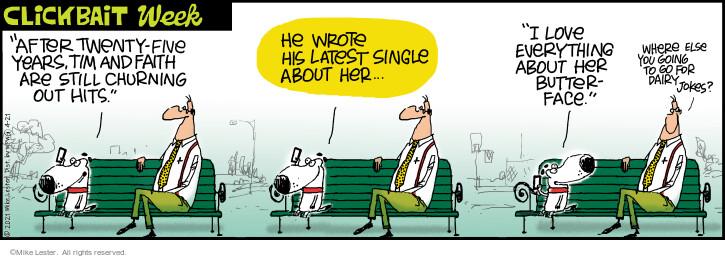 Comic Strip Mike Lester  Mike du Jour 2021-04-21 his