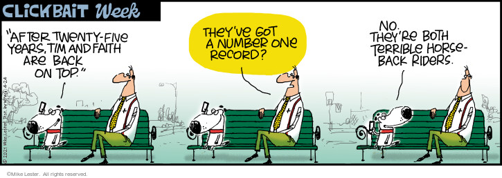 Comic Strip Mike Lester  Mike du Jour 2021-04-24 back