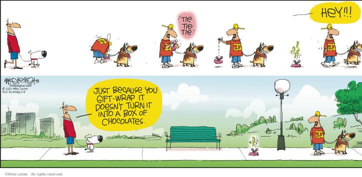 Comic Strip Mike Lester  Mike du Jour 2021-05-09 just
