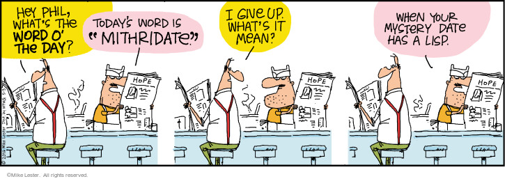 Comic Strip Mike Lester  Mike du Jour 2021-05-03 wordplay
