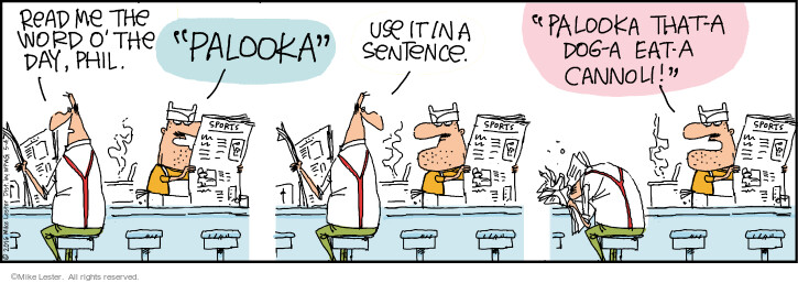 Comic Strip Mike Lester  Mike du Jour 2021-05-04 wordplay