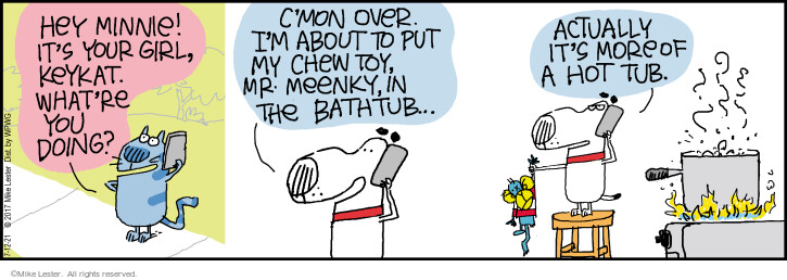 Comic Strip Mike Lester  Mike du Jour 2021-07-12 Mike