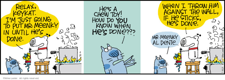 Comic Strip Mike Lester  Mike du Jour 2021-07-16 Mike