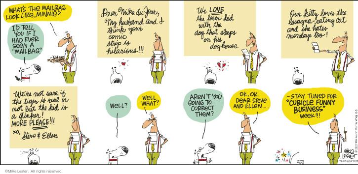 Comic Strip Mike Lester  Mike du Jour 2021-08-08 his