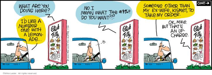 Comic Strip Mike Lester  Mike du Jour 2021-07-26 number