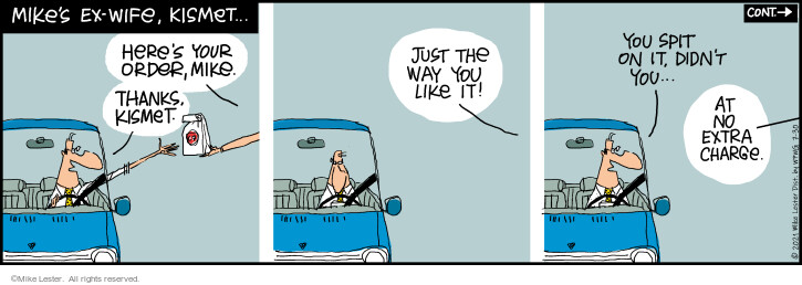 Comic Strip Mike Lester  Mike du Jour 2021-07-30 your