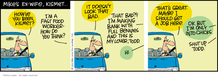 Comic Strip Mike Lester  Mike du Jour 2021-07-31 here