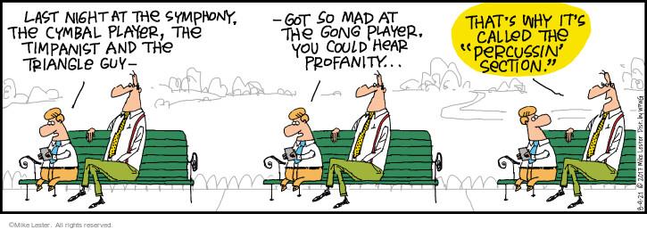 Comic Strip Mike Lester  Mike du Jour 2021-08-09 word