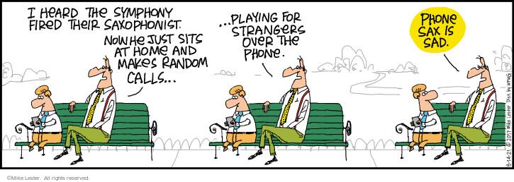 Comic Strip Mike Lester  Mike du Jour 2021-08-14 home