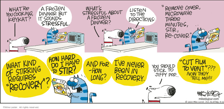 Comic Strip Mike Lester  Mike du Jour 2021-09-12 they