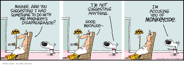 Comic Strip Mike Lester  Mike du Jour 2021-08-31 not