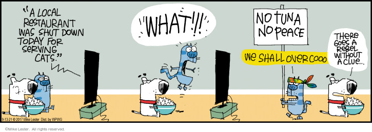Comic Strip Mike Lester  Mike du Jour 2021-09-13 there