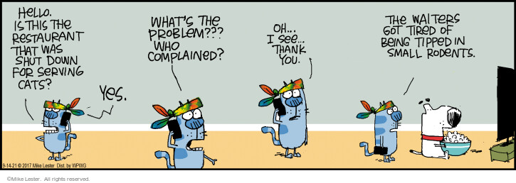Comic Strip Mike Lester  Mike du Jour 2021-09-14 yes