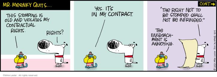 Comic Strip Mike Lester  Mike du Jour 2021-10-05 strip