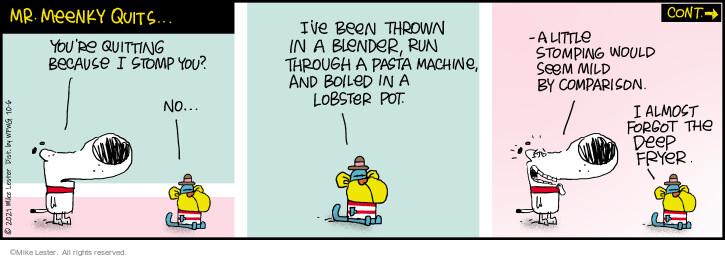 Comic Strip Mike Lester  Mike du Jour 2021-10-06 you