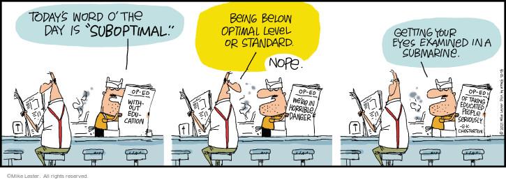 Comic Strip Mike Lester  Mike du Jour 2021-10-18 strip